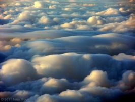 Cloudscape from above 3 by Naeena