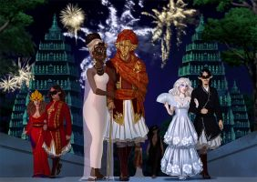 AA: Masquerade ball by SilvesterVitale