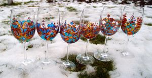 Wine glasses by MirachRavaia