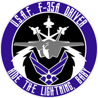 USAF F-35A Flight Insignia by viperaviator
