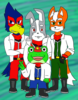 Team StarFox by Foxsion