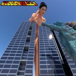 Goddesszilla Preview 2 by zzzcomics