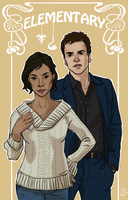 Elementary: Watson and Holmes by Robinade