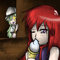Collab: I want your Icecream. by AlwxIV