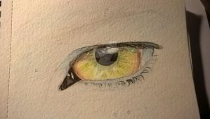 eye by aswhiteassnow