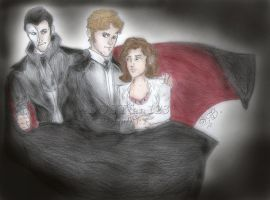 Erik, Raoul, and Christine by LOSTfan123