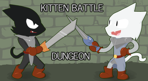 Kitten Battle Dungeon by Nox-id