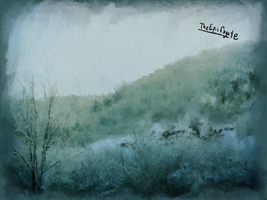 Winter Landscape by TheEpicCoyote