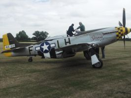 P 51 Mustang at the Combined ops 2 by FFDP-Neko
