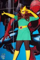 Marvel Girl at ComicCon by Alyssa-Ravenwood