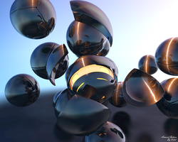 Armored Spheres by Kelel