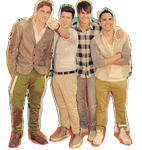 PNG BTR and DemiLovato by RusherLovatic