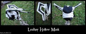 Hollow Leather Mask by Epic-Leather