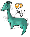 Baby Nessie - Bid Points Adoptable! - Reduced! by Natalie02