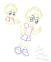 Bart Simpson by iTiffanyBlue