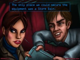 Perfect Dark with Storm Dain by KoalitionComics