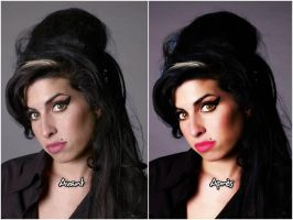 retouch Amy Winehouse by LaLaShivers
