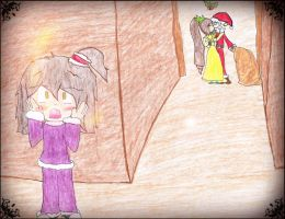 I saw Mommy kissin Santa Claus! by Yellow-Phoenix