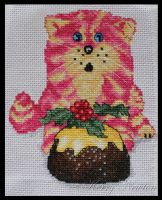 Christmas Bagpuss by KezzaLN