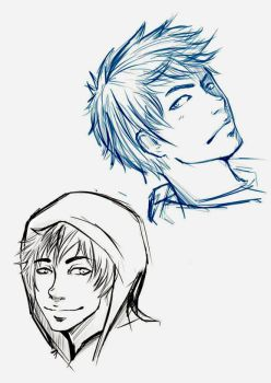 Jack Frost sketches by Micatsa