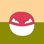 Voltorb by Kiddo-the-dragon