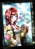 Kurisu Get Wet by Anomonny