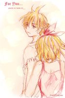 Kagamine: For You by ChikoiToriChan