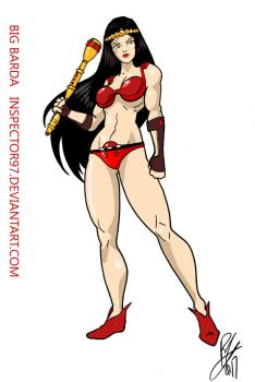 Big Barda by Inspector97