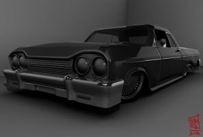 3D 1964 chevy impala by pensilkertas