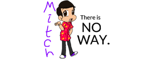 Mitch Grassi: There is NO WAY. by gleefulchibi