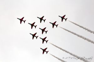 Red Arrows 4 by Takeshi-Toga