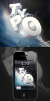 TYPO iPhone Wallpapers Pack by pixel-junglist