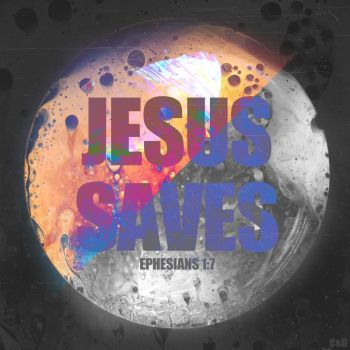 Jesus Saves by CherryConcepts