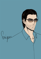 Sniper (again with the originality, Christ) by yenmae