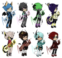 Adopts 13 : Mixed, SET PRICES [ 1/8 OPEN ] CHEAPER by Armota