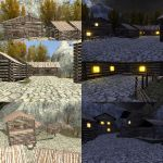 [MMD] Mountain village [UPDATED download] by Wampa842