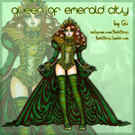 Queen of Emerald City by thelettergii