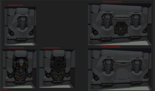 Military Wall Concepts - Firefall by JayAxer