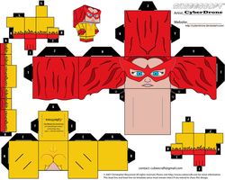 Cubee - Firestar by CyberDrone