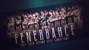 Sampiyon Fenerbahce by EsegaGraphic