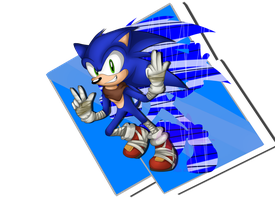 ::Art Trade:: Sanic BEWM by Jewel-Shapeshifter