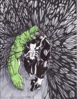 We are Hulk Final by boricuanart
