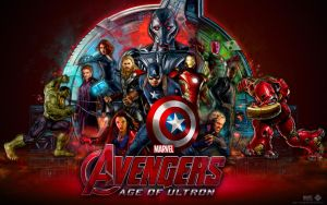 Avengers Age of Ultron Movie Wallpaper 2015 by lesajt