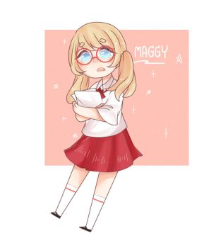 My OC :: Maggy by Mag-Maggy