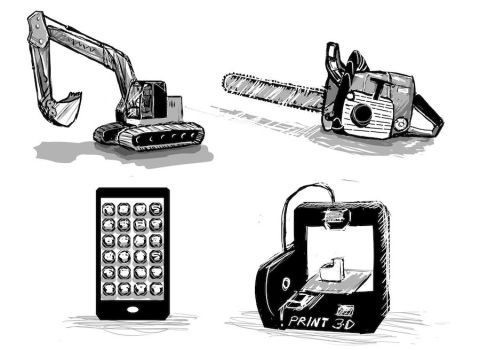 Tools by dreamling