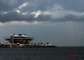 St Pete Pier Lightning by WatchTower513