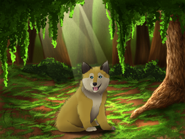 Kujo [as little puppy] by lilly-gerbil
