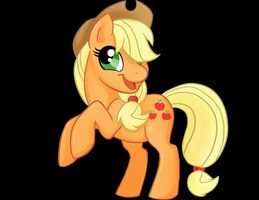 Mini Stand Up Applejack by Sciggles