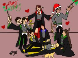 Happy Hogwarts Holidays by SmileWhenDead