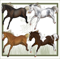 Residual Horses Batch 1 by ResidualAdopts